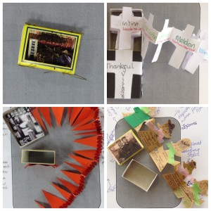 One student made a mini diorama, one explored the role of women and two others explored what 'thankful villages' were.