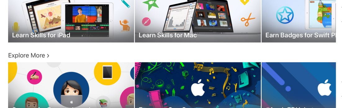 apple teacher modules