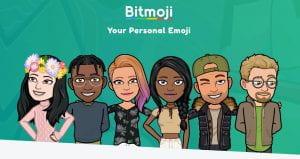 bitmoji screen shot