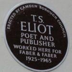 TS Eliot Plaque (Wikimedia Commons)
