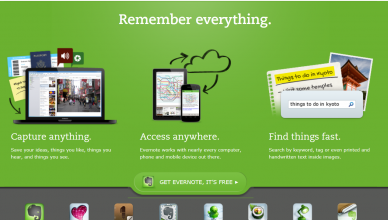 Evernote – ideas and tips for using it effectively at work