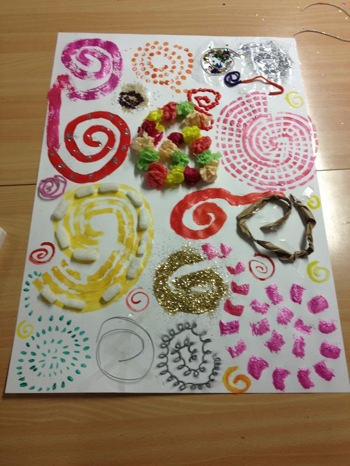 early expressive arts patterns different robinson sophie