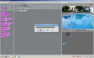 Print screen of sratch audio clip