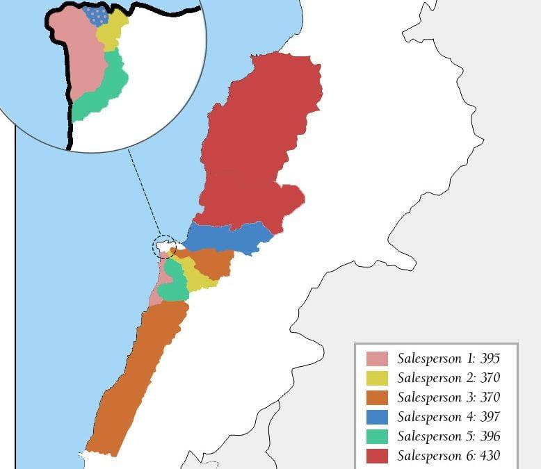 Salesperson Regional Allocation