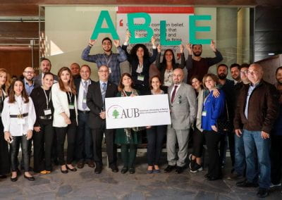ABLE Team at the ABLE Summit.