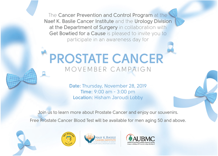 Prostate Cancer Movember Awareness Campaign