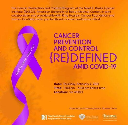 Cancer Prevention and Control Redefined amid COVID-19 conference