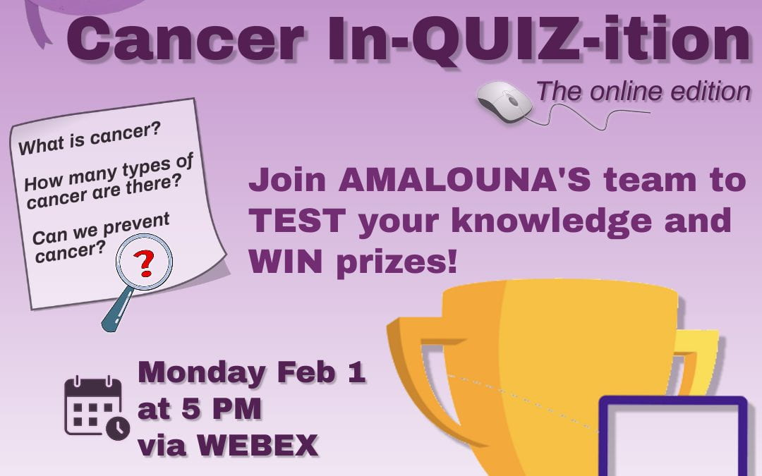 CANCER In-QUIZ-ition