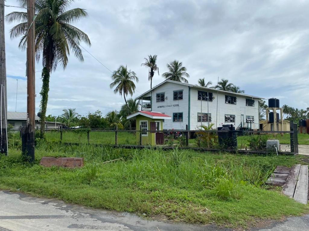 Arthurville Primary School in Wakenaam Guyana