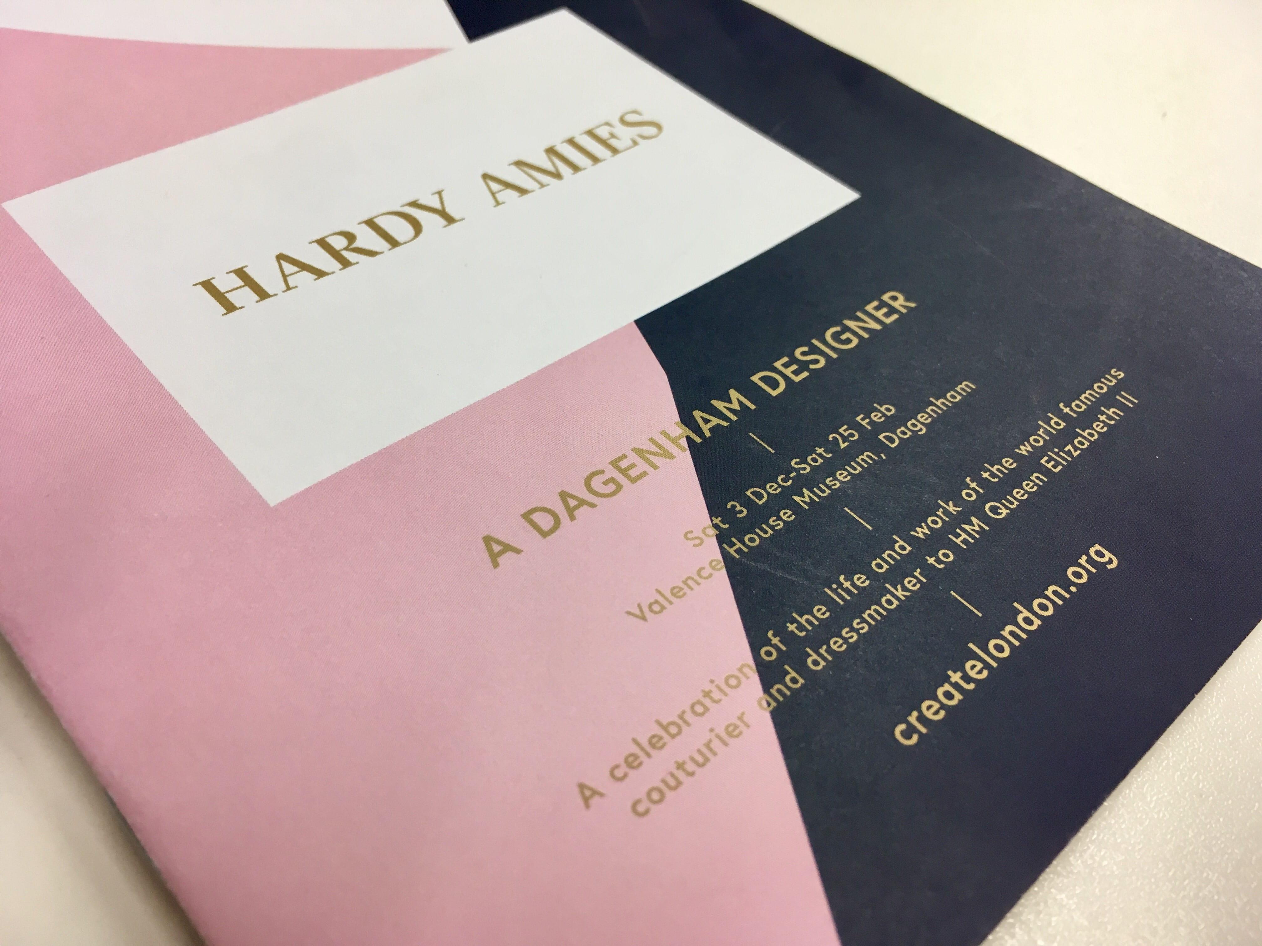 Hardy Amies A Dagenham Designer