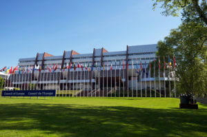 The Palais de l'Europe (the Council of Europe's principal building in Strasbourg).