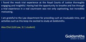 LLB Law student Alex
