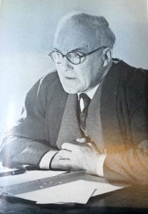 Warden Arthur Edis Dean- the head of Goldsmiths from 1927 to 1952