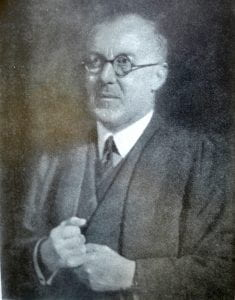 Goldsmiths' College Warden Arthur Edis Dean