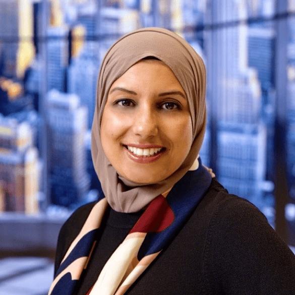 A portrait of Reema Ahmad Choudhury