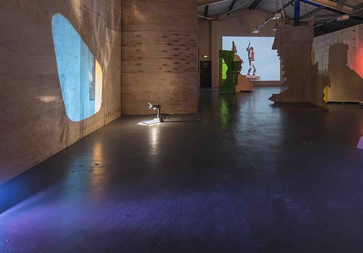 Holly Davey, The Conversation, g39, Cardiff, Installation image, Nov 2017.jpg