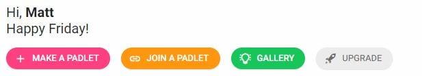 Make a Padlet