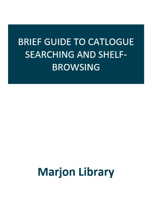 Front Cover: Using Library E-Books, click to open pdf