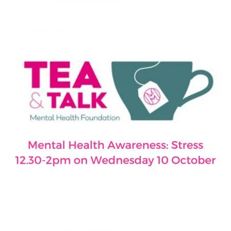 Image showing tea and talk image