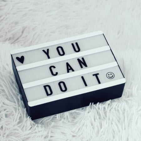 you can do it written on a lightbox