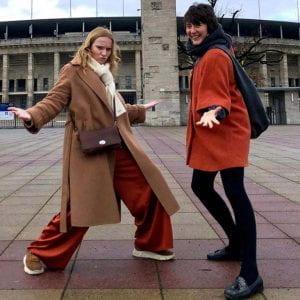 Sara Jane at the Olympic Stadium Berlin