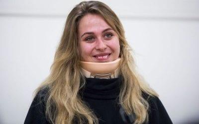 Formula 3 Driver Sophia Floersch Returns Home After 11 Hour Surgery