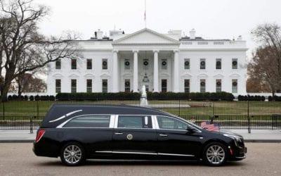 America bids farewell to George HW Bush.