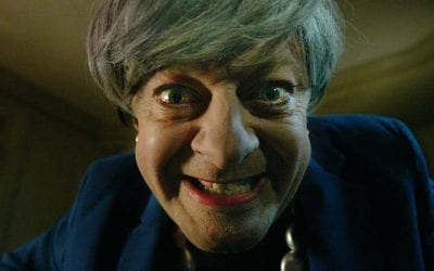 Theresa May-Gollum Returns To Sing Brexit Bohemian Rhapsody