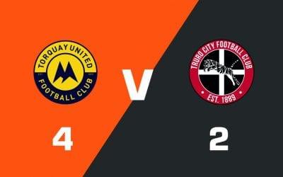 MATCH REPORT: Torquay United 4 – 2 Truro City