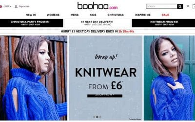 BooHoo's 'time-limit sales' recorded as false.