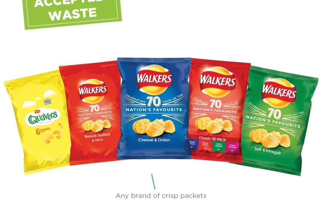 Falmouth Garden Centre wants your empty crisp packets