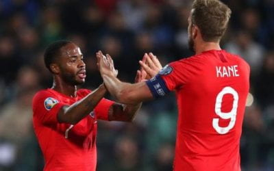 England hit six after racist abuse