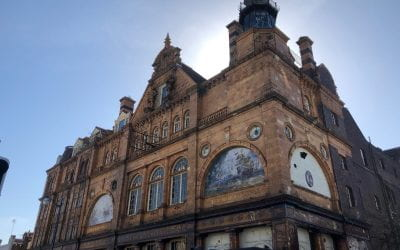 Abandoned and crumbling, the history of the New Palace Theatre is rotting away