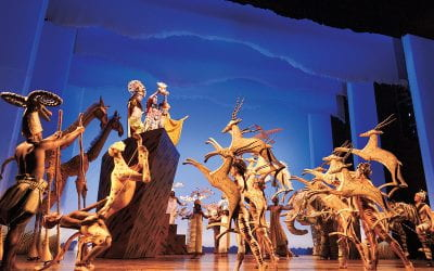 'Everything you see exists together in a delicate balance' – The Lion King Theatre Review