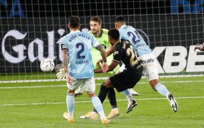 Celta Vigo 0-3 Barcelona: Ansu Fati inspires 10-man visitors to victory