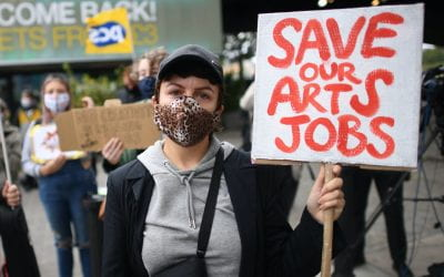 'Will You Be Strong and Stand With Me' – Theatre Stars Stage Protests in Plea to Save The Arts
