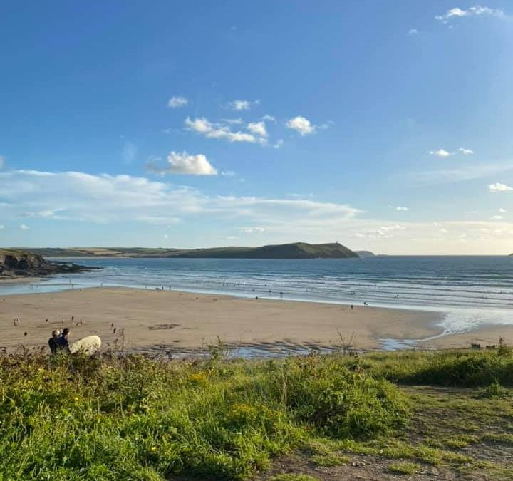 Beach walks found to have positive mental health impacts