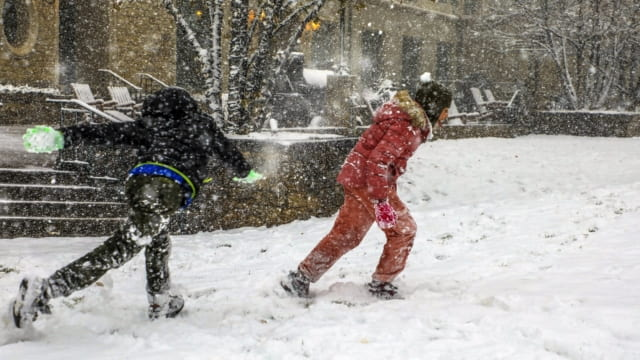Are snowy winters in the UK becoming a thing of the past?