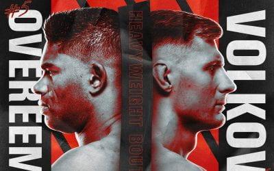 UFC Fight Night: Overeem VS Volkov