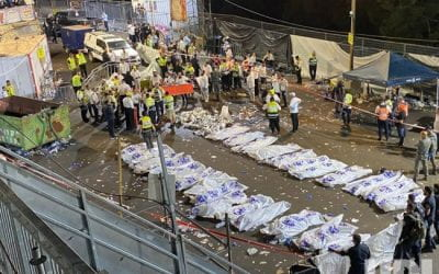 """""""Rejoicing became mourning""""- 44 killed after tens of thousands attend religious bonfire festival in Israel"""