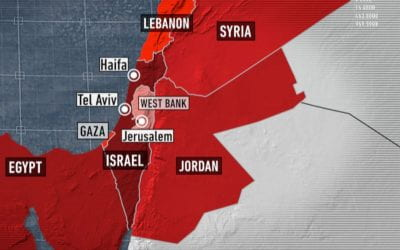"""Potential for """"a full-scale war"""" between Israel and Palestine"""