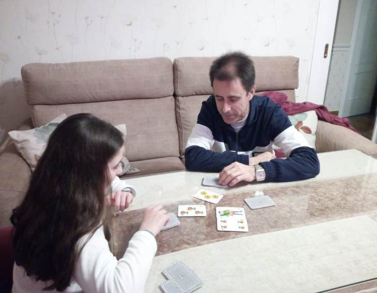 pupil and parent