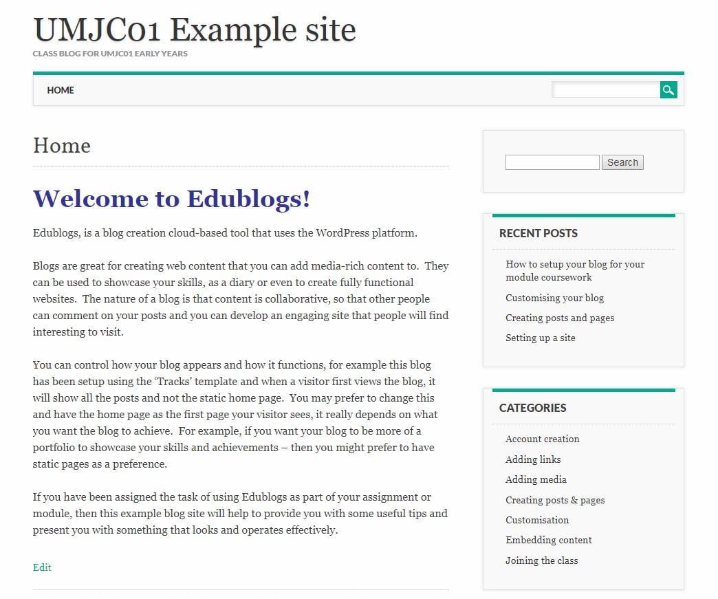 UMJC01 template