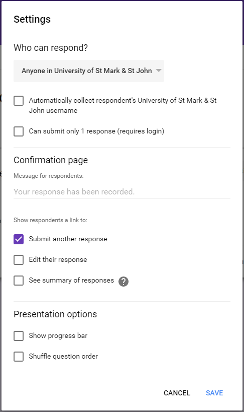 form send button on top