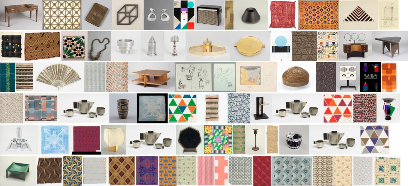 A selection of Cooper Hewitt objects tagged 'geometric'