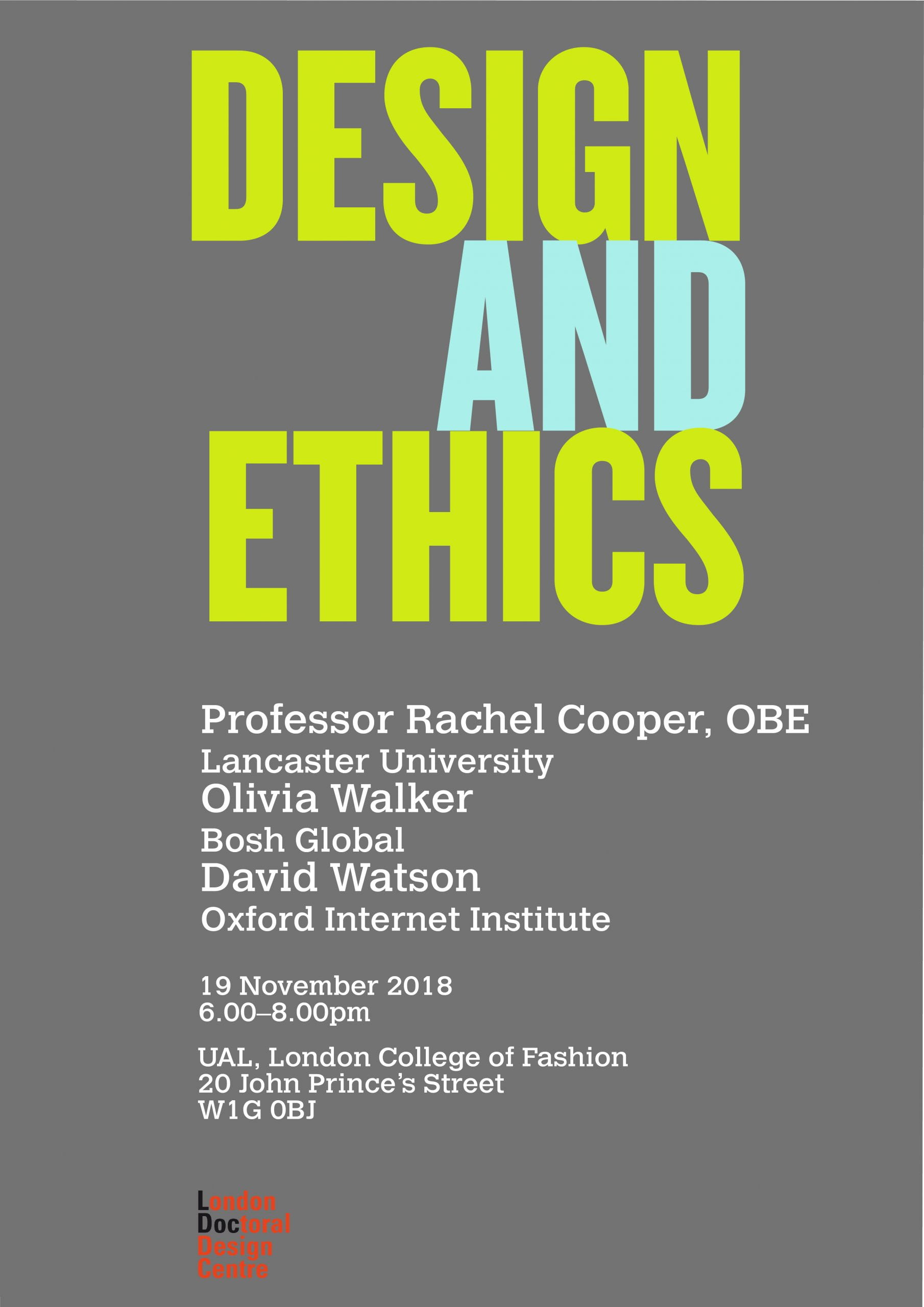 Keynote 13: Ethics and Design Research