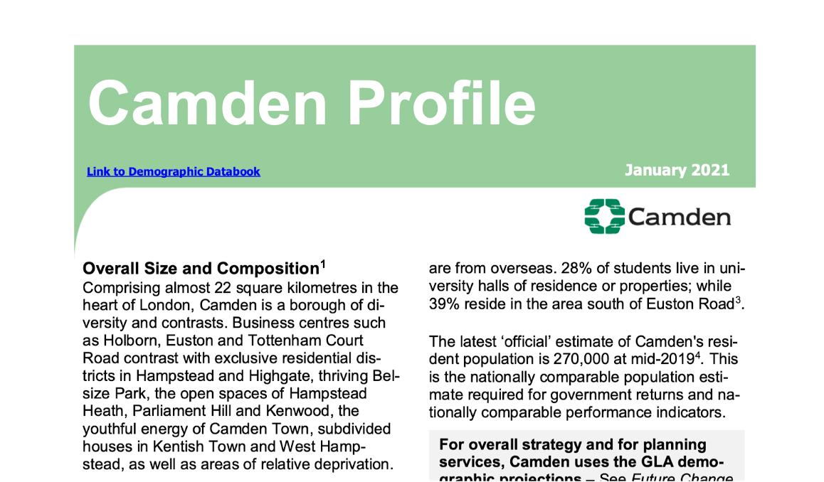 Camden Profile(January 2021)