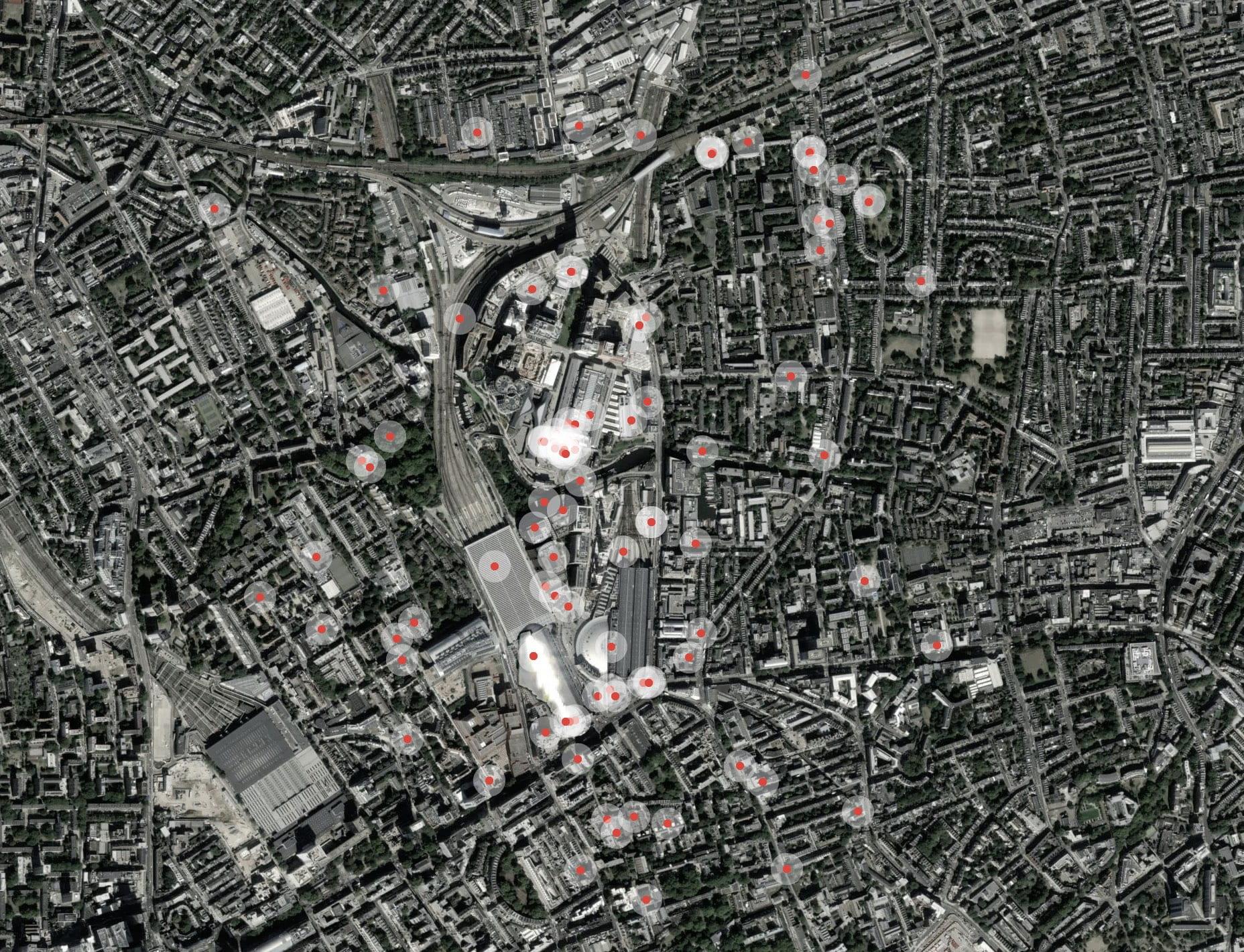 Kings Cross Field Map