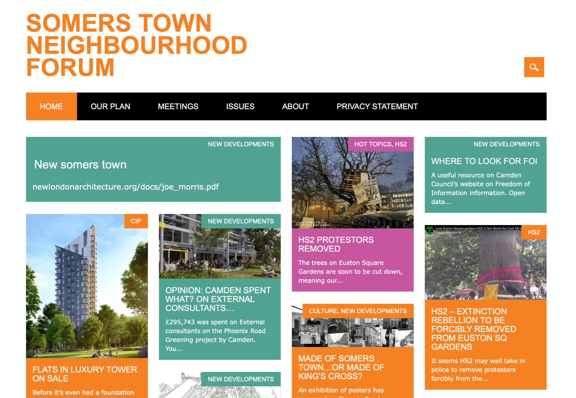omers Town Neighbourhood Forum
