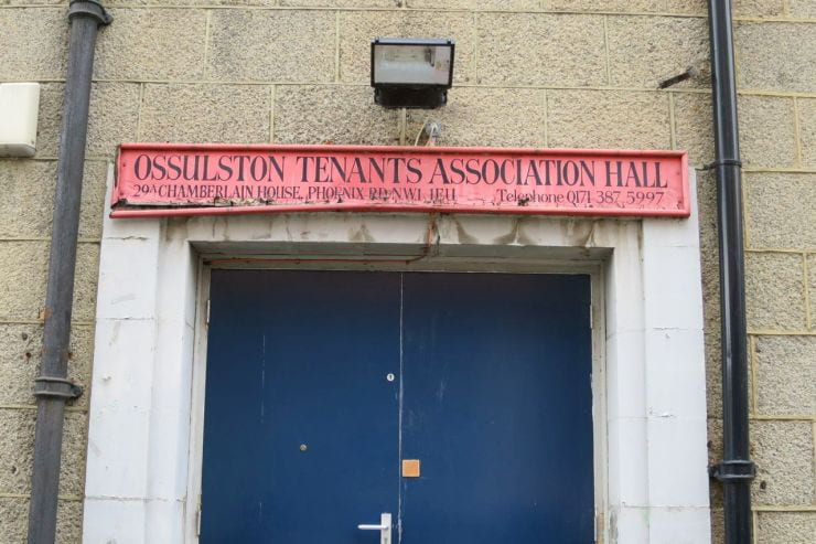 Ossulton TRA Hall